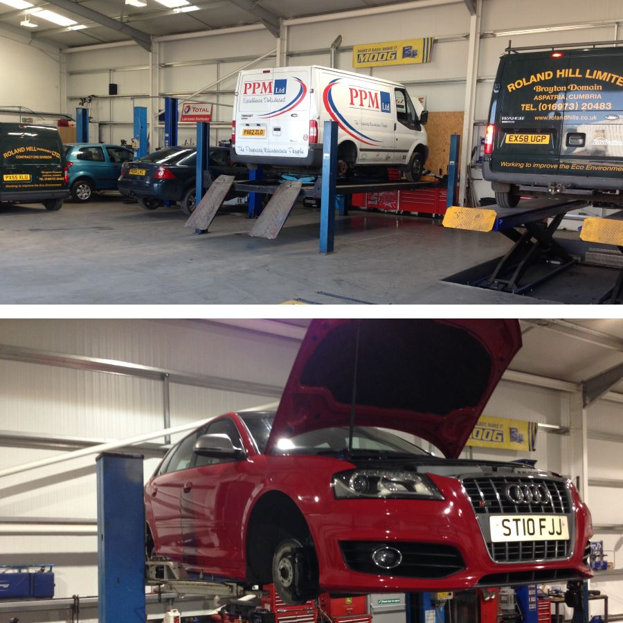 Car and van servicing and repairs in Wigton